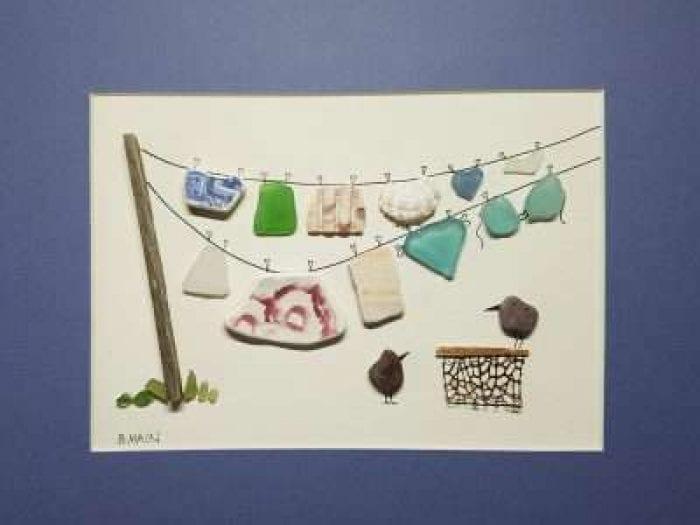 Custom clothesline picture